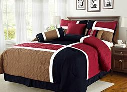 Empire Home Over-Stock Special Patchwork 7 Piece comforter s