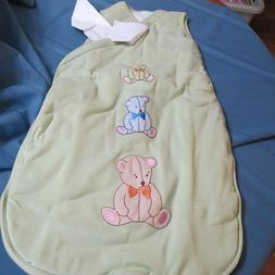 Ikea Baby Wearable Blanket Light Green Sleeping Bag Sleep Sa