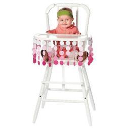 IN-13734172 Polka Dot Girl High Chair D¨¦cor