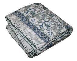 Indian Hand Block Tiger Print Baby Quilt Bed Cover Bedding B