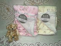 Infant Baby Blanket Premium Plush Soft Faux Fur Softness 30