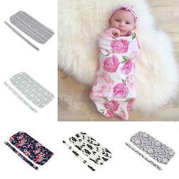 Infant Baby Newborn Sleeping Bag Swaddle Blanket Stroller Wr