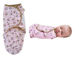 Infant Unisex Baby Swaddle Blanket Wrap Cotton Receiving Bla