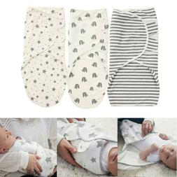 Infant Baby Swaddle Wrap Newborn Blanket Breathable Organic