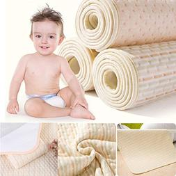 MBJERRY Infant Bamboo Fiber Waterproof Changing Pad - Natura