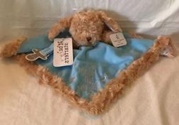 Baby Starters Infant Boy Blue Lovey Rattle Blanket Puppy Dog