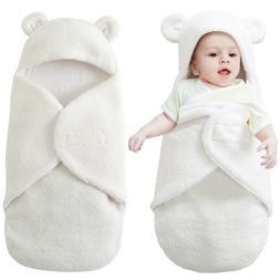 Infant Newborn Baby Boy Girl Soft Fleece Warm Swaddle Wrap B
