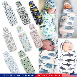 Infant Newborn Baby Toddler Swaddle Wrap Blanket Sleeping Ba