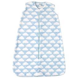 Hudson Baby Baby Wearable Safe Cozy Warm Sleeping Bag, Blue