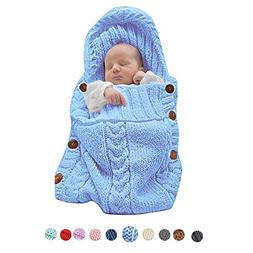 XMWEALTHY Infants Baby Blankets Cute Newborn Baby Girls Swad