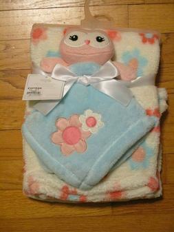 Baby Gear Infants 2 Piece Buddy Security Sleep Blanket on a