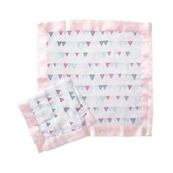 Aden by Aden + Anais Security Blanket 2 Pack, Pretty Pink