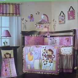 Jacana 6 Piece Baby Crib Bedding Set by Cocalo