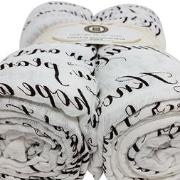 Scripture Strong Jeremiah 29:11   Best Muslin Baby Swaddle B
