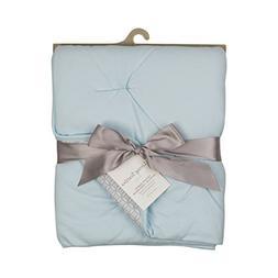 Living Textiles Jersey Pintuck Comforter - Blue - Classic, E