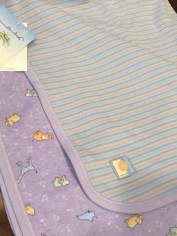John Lennon Baby Blanket-Real Love-Carter's NWT- Lavender/St