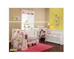 Carter's Jungle Collection 7 Piece Crib Bedding Set