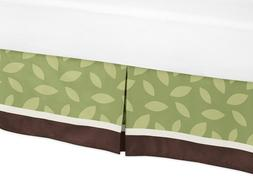 Jungle Time Bed Skirt for Toddler Bedding Sets by Sweet Jojo