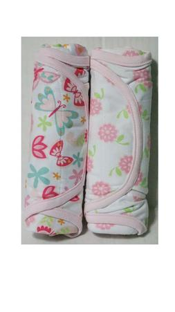 NoJo Just Swaddled 2 Pack Blankets - Baby Girl 0-3 Months -