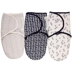 NoJo Just Swaddled Stargazer 3 Pack Blankets - Baby boy 0-3
