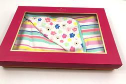Kate Spade Reversible Baby Infant Receiving Blanket Stripe F