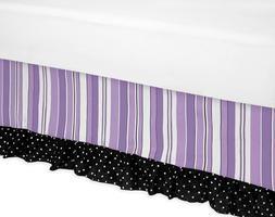 Sweet Jojo Designs Kaylee Bed Skirt for Toddler Bedding Sets