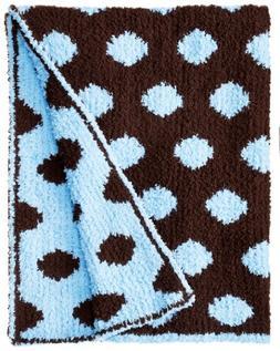 17564087bf8 Colorado Clothing Kid s Chunky Chenille Polka Dot Blanket