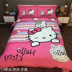 Warm Embrace Kids Bedding Set 100% Natural Cotton Girls Bed