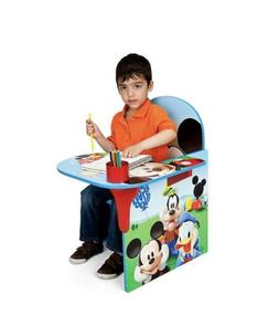 Kids Desk and Chair Set Mickey Mouse Activity Table Boys Roo