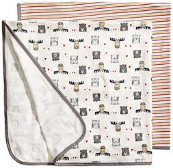 Rene Rofe Baby Kids' Little Newborn Basics Unisex 2 Pack Swa