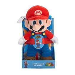 JayFranco Kids Plush Throw Blanket and Character Mario Hugge