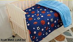 Elegant Home Kids Soft & Warm Sports Basketball Baseball Soc
