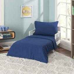 Everyday Kids 4 Piece Toddler Bedding Set - Includes Comfort