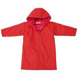 My Blankee Kids Waterproof Hooded Rain Coat, Red