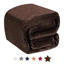 H.VERSAILTEX Lightweight Fleece Blanket Super Soft Flannel B