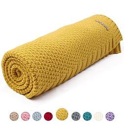 mimixiong Baby Blanket Knit Toddler Blankets for Boys and Gi