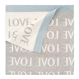 Elegant Baby 'Love' Knit Blanket, Size One Size - Blue