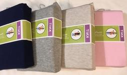 Circo Knit Fitted Crib Sheet multiple colors new