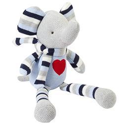 Elegant Baby Knitted Knittie Bittie, Elephant, 15 25212