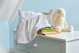 Koala Baby Floral 100% Cotton Print Blanket Springtime Slumb