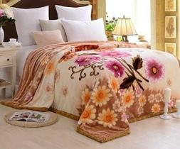 Korean Blanket Mink Heavy 10 Lbs Queen & King Size Thick War