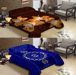 Korean Mink Blanket Queen & King Size 14 Lbs Heavy Duty Thic