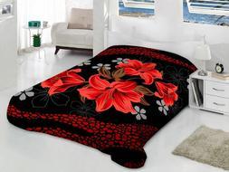 Korean Mink Blanket Queen King Size 14 Lbs Heavy Thick Warm