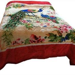 Korean Mink Blanket Queen Size 11 Lbs Heavy Duty Warm Soft T