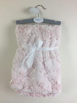 Kyle & Deena Baby Girl Pink Elegant Blanket Faux Fur Layette