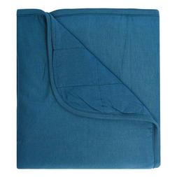 Kyte Baby Solid Baby Blanket Teal Color
