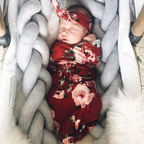 US Newborn Infant Cotton Swaddle Sleeping