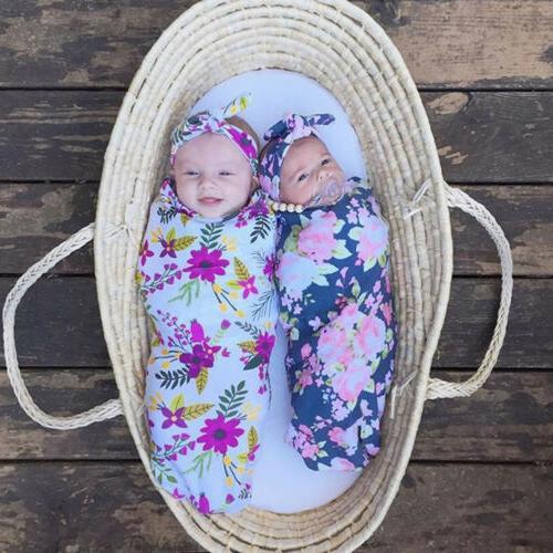 Cotton Swaddle Blanket Wrap Sleeping Sleepsacks