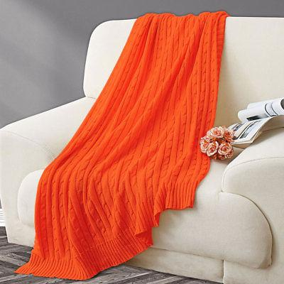 Blanket Soft Knitted Throw