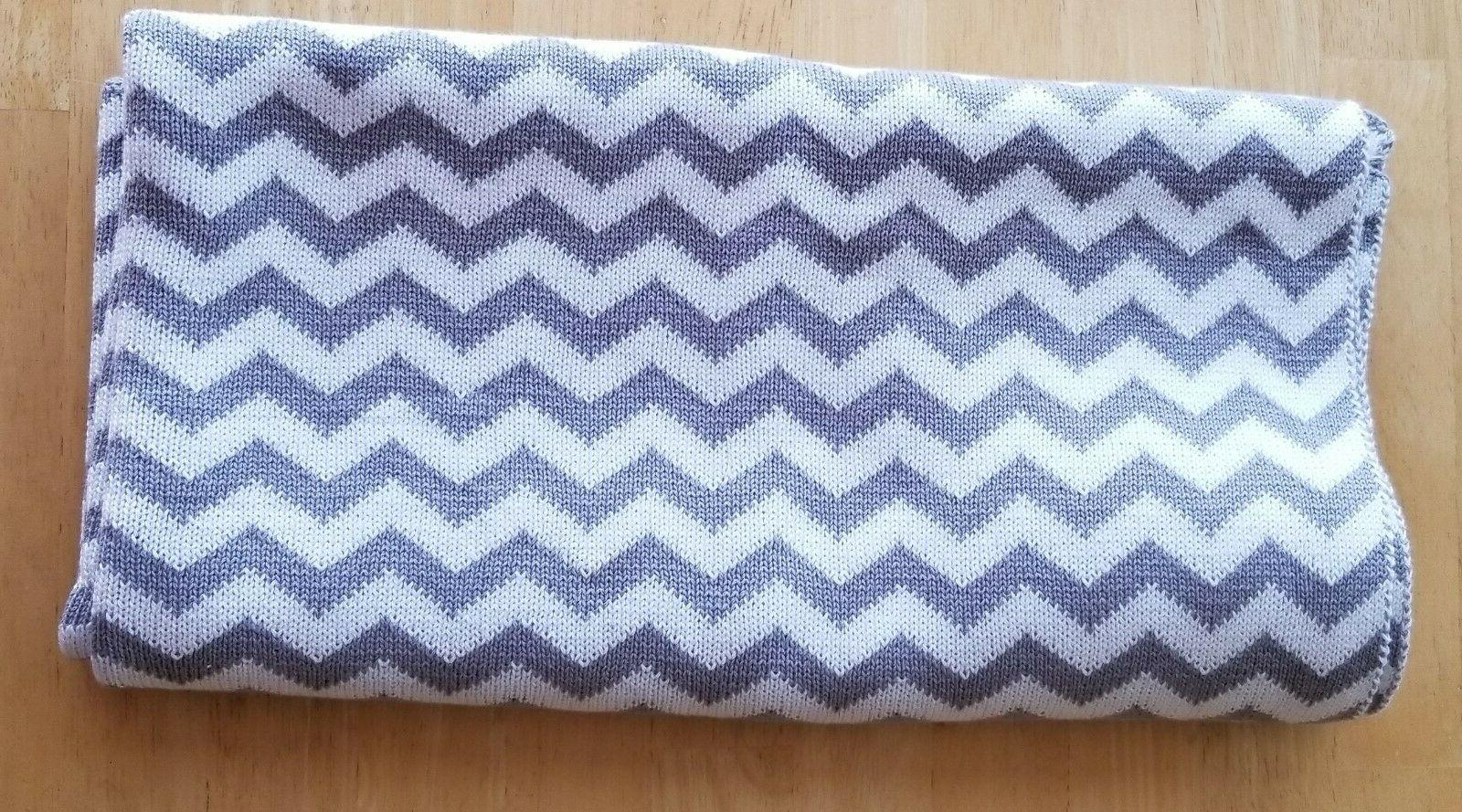 100 percent cotton sweater knit swaddle blanket